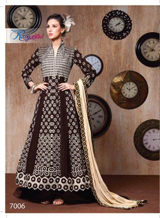 Rang Sutra Glamour Design 7006