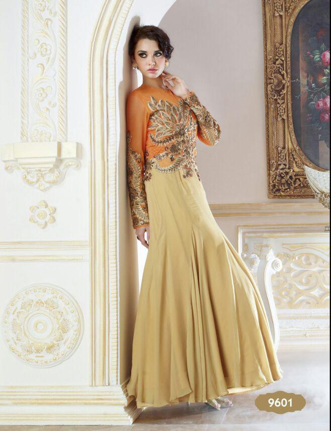 Forever EID Gown Design 9601 - Asian Suits Online