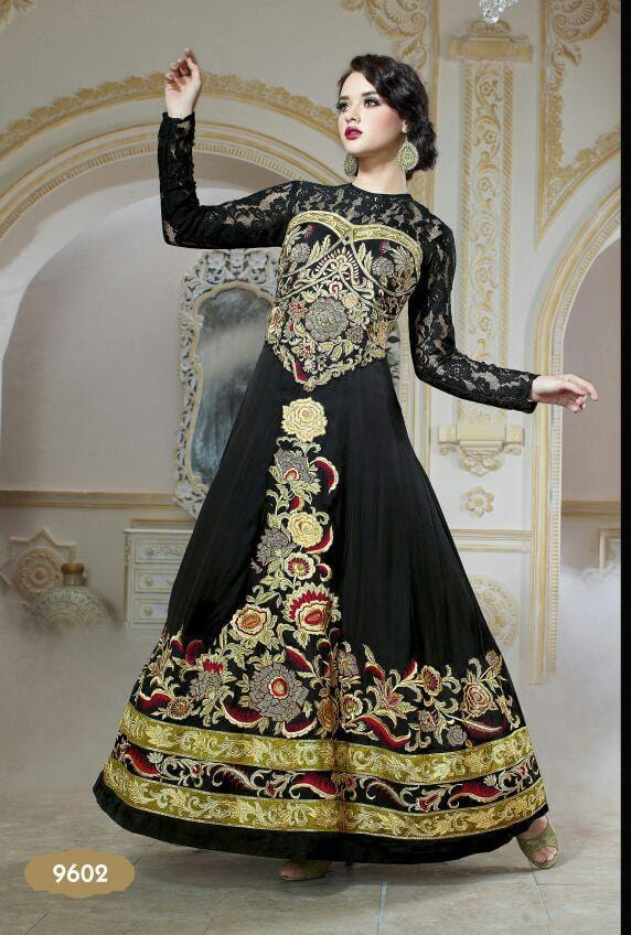 Forever EID Gown Design 9602 - Asian Suits Online