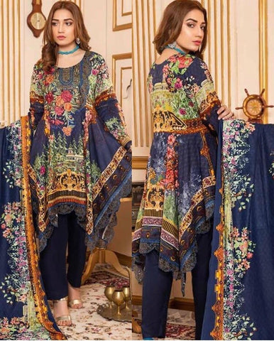 Linen Embroidered Design LE301