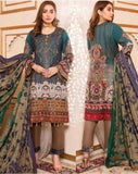 Linen Embroidered Design LE302