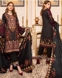 Linen Embroidered Design LE303