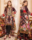 Linen Embroidered Design LE305