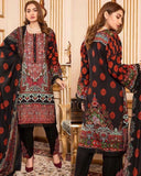 Linen Embroidered Design LE306