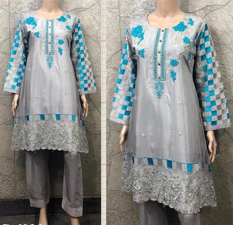EID Viscous Embroidery Design EV222A