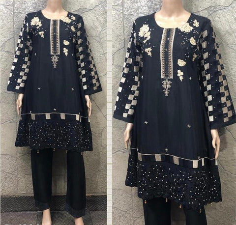 EID Viscous Embroidery Design EV222B