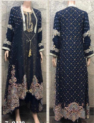 EID Heavy Jacket Embroidery Design EJ228B