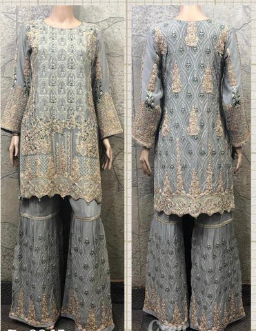 EID Sharara Embroidery Design ES229B