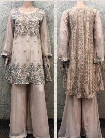 EID Sharara Embroidery Design ES230A