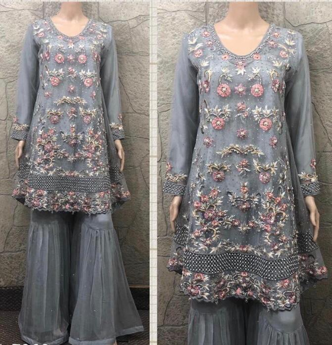 EID Inspired Embroidery Design EM241 - Asian Suits Online