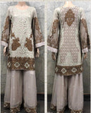 EID Sharara Embroidery Design EM250 - Asian Suits Online