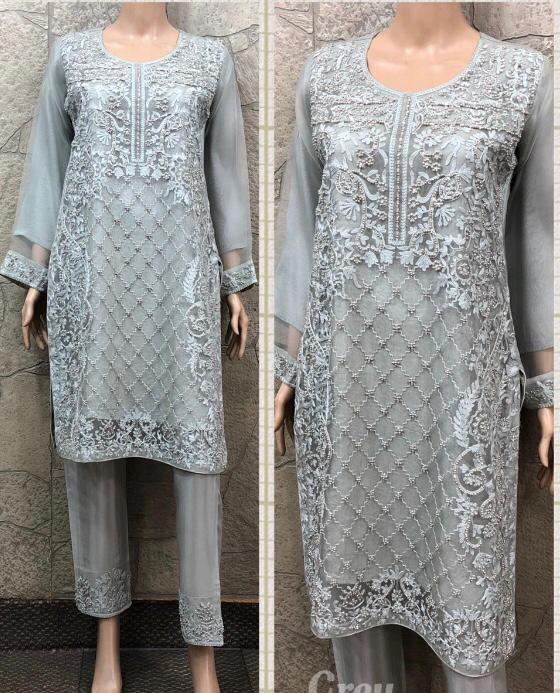 EID Inspired Pearl Design EM253 - Asian Suits Online