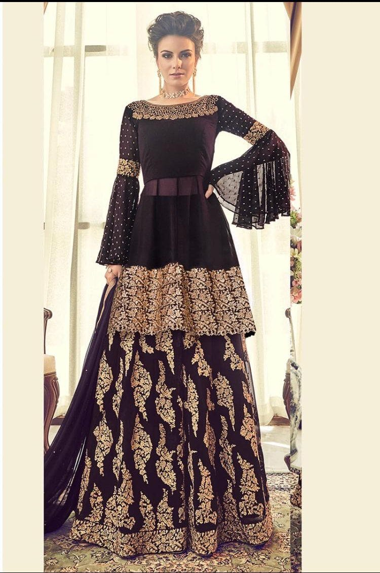 Aaira Design 7019D - Asian Suits Online