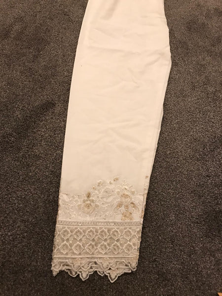Cotton Heavy Embroidery Trouser Design CE401