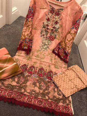 EID Gul Ahmed Inspired Design RMK1236