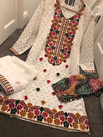 EID Cotton Kameez Design RMK1305