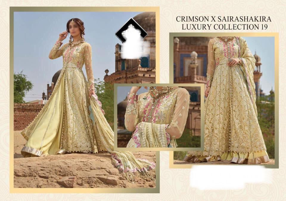 Saira Shakira Master Inspired Design 405 - Asian Suits Online