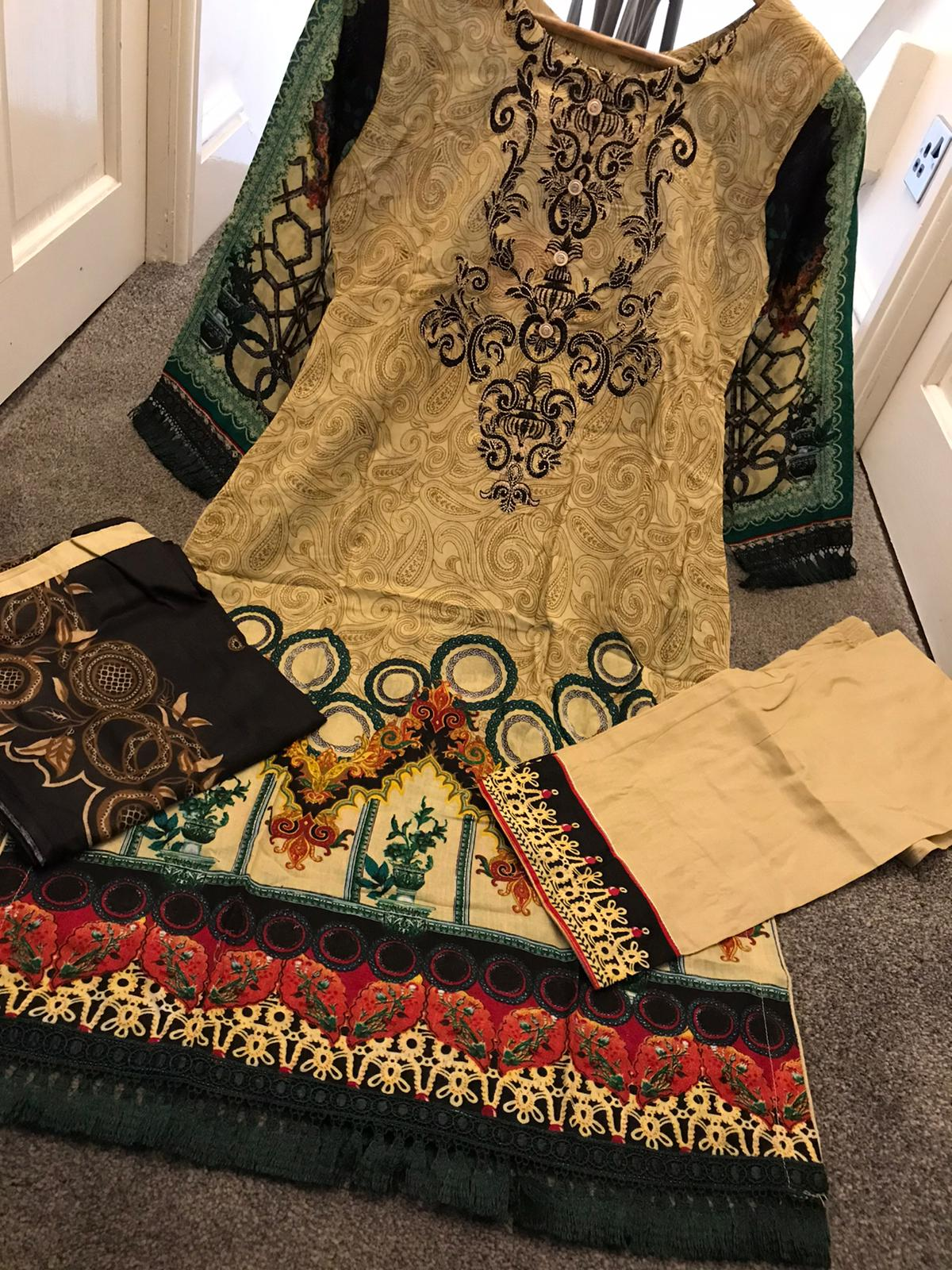 Inspired Summer Lawn Design RBL3018 - Asian Suits Online