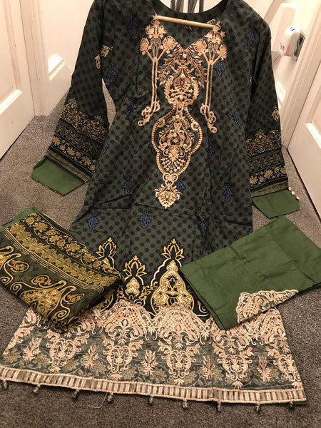 EID Inspired Lawn Design REL808