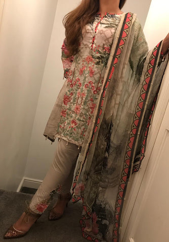 Maryam Ayesha Digital EID Lawn Design RMA1002