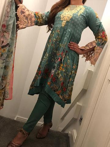 Maryam Ayesha Digital EID Lawn Design RMA1003