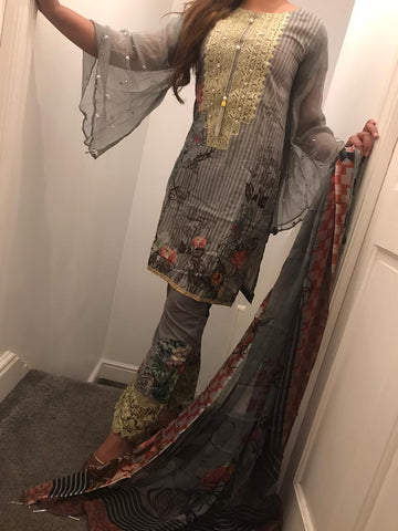 Maryam Ayesha Digital EID Lawn Design RMA1006