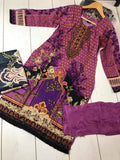 Winter Marina Kameez Design RWM6062
