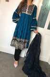 Inspired Kotail Winter Frock Design RKW3156