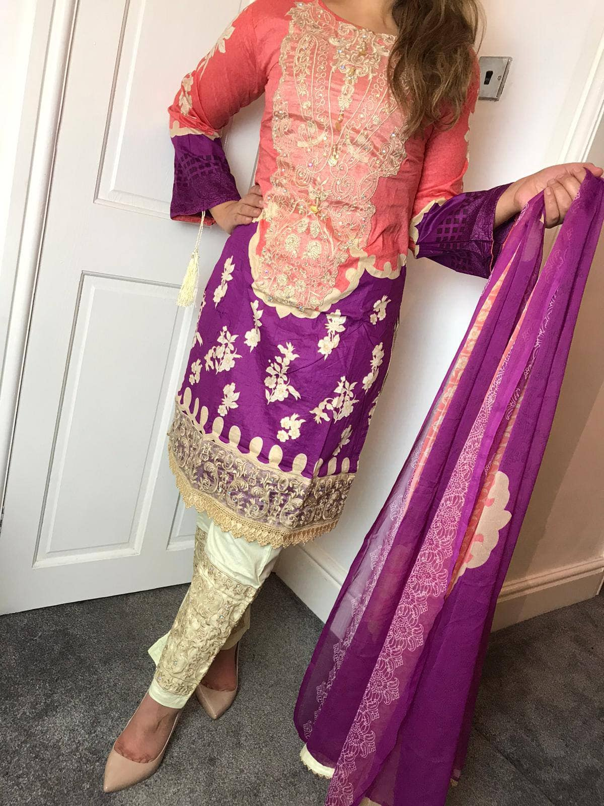 Sana Safinaz Inspired EID Design RSS3713
