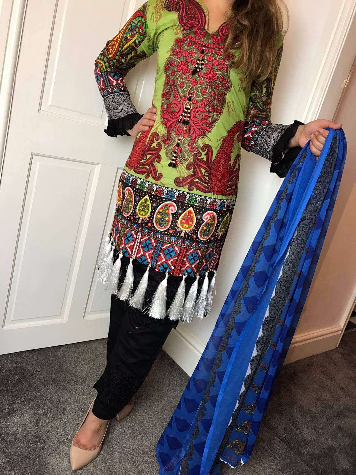 Sana Safinaz Inspired EID Design RSS3714