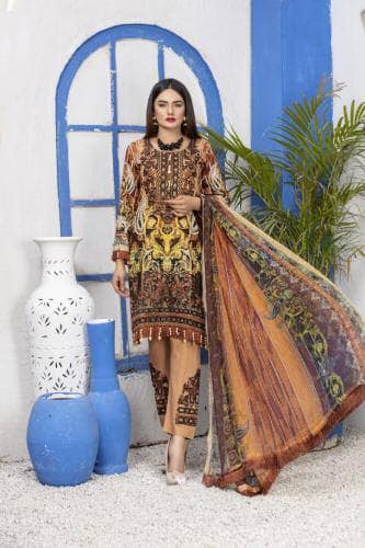 Munira Lawn Embroidery Design RML4061