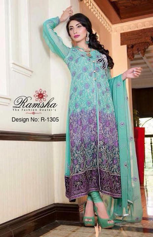 Ramsha Vol 13 Design R-1305