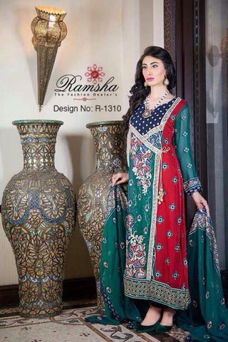 Ramsha Vol 13 Design R-1310