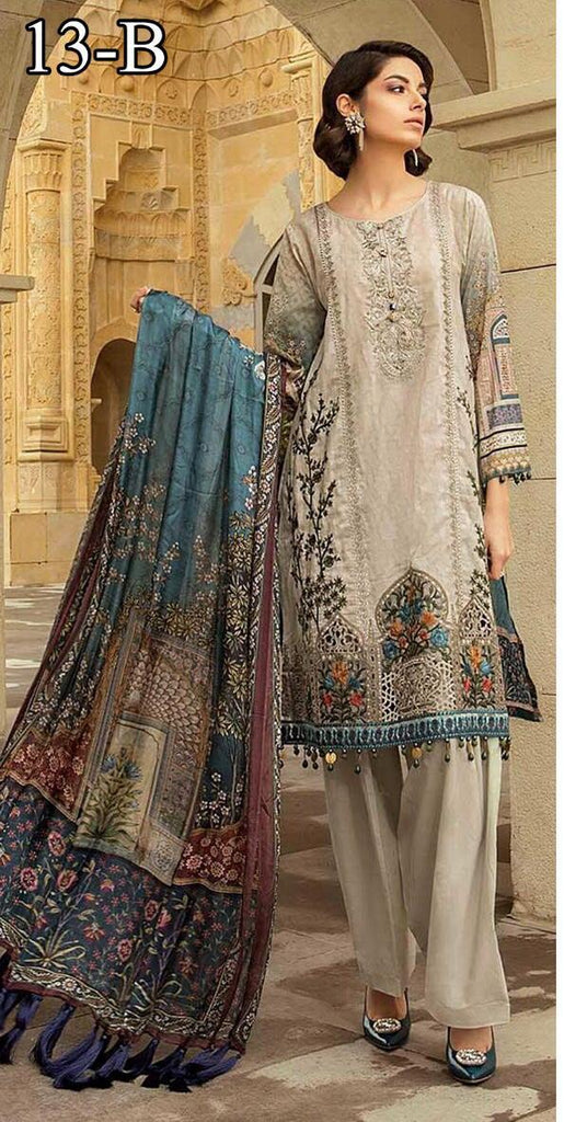 65de895fed Maria B Inspired Lawn Design 13B – Asian Suits Online