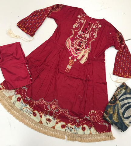 Ethnic Inspired Frock Design RME12