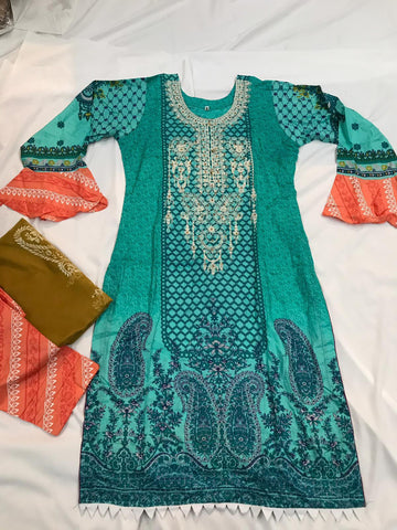 Inspired EID Lawn Design RMI104