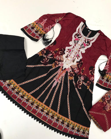 Anaya Inspired Frock Design RAF54 - Asian Suits Online
