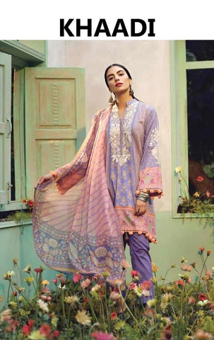 Khaadi Inspired Linen Design K23