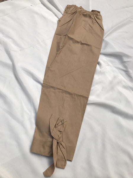Cotton Tie up Trouser Design CT302