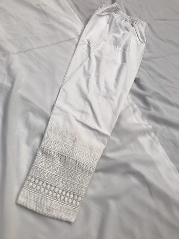 Cotton Heavy Lace Trouser Design CT102
