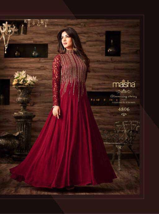 Maisha Design 4806 - Asian Suits Online