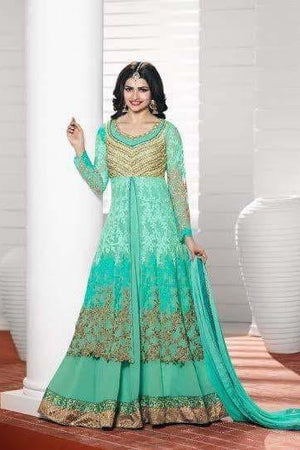Prachi Desai Heavy Party Wear Design P3904