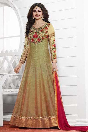 Prachi Desai Heavy Party Wear Design P3905