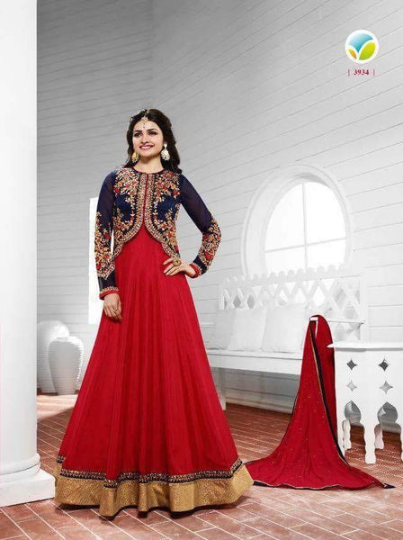 Prachi Desai Heavy Party Wear Design P3906