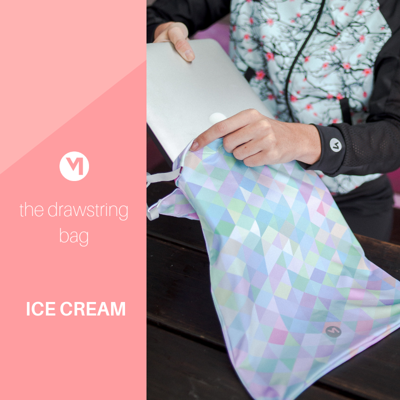 MOVEPRETTY DRAWSTRING BAG