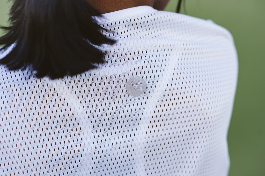 THE RUCHE T | WHITE