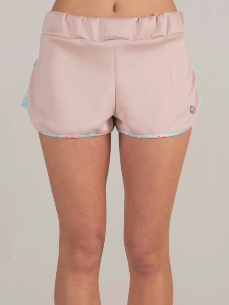 WATERMELON ZIP SHORTS
