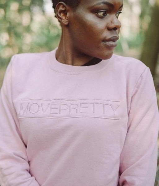 THE CLASSIC CREWNECK TOP | DUSTY PINK