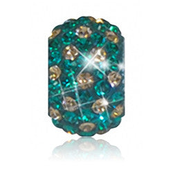 1802 | Sparklies® - Green & Gold  Polka Dot..