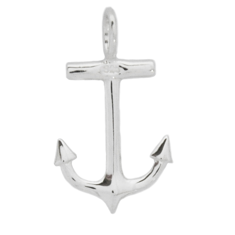 8012 | Sterling Silver Pendant - Anchor